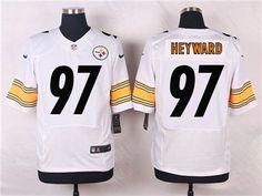 Nike Pittsburgh Steelers #97 Cameron Heyward White Jersey