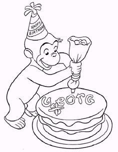 15 best curious george coloring pages for your little ones - Coloring Pages Curious George