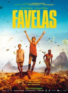Favelas - le 12/11/14 à #Kinepolis >> http://kinepolis.fr/films/favelas?utm_source=pinterest&utm_medium=social&utm_campaign=trash#showtimes