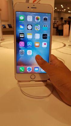 Iphone 6s plus (rose gold my fav)