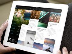 iPad Flat UI Set  by Freebo (Boston, MA)