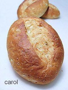 Carol 自在生活  : 燕麥蜂蜜麵包