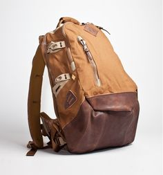 #backpack #leather #canvas