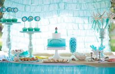 """I have died and went to heaven! """"Beyond the Sea"""" Birthday Party. Photos (c) April Pizana."""