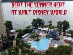 Tips for dealing with the heat in summer at WDW