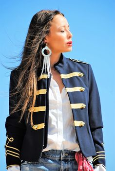 Military Jacket Trends... New post on my blog!!! www.nekanet.com