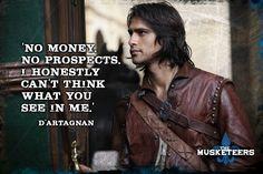 bbc musketeers constance | artagnan constance bonacieux constagnan tamla kari luke pasqualino ...