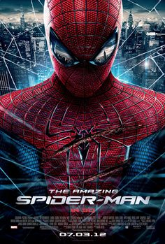 The Amazing Spider-Man - When are you swinging in to see Andrew Garfield and Emma Stone play Peter Parker and Gwen Stacy? Gwen Stacy, The Amazing Spiderman 2012, Stan Lee, Love Movie, Movie Tv, Movie Shelf, Epic Movie, Hero Movie, Peliculas Audio Latino Online