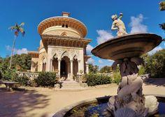 Monserrate, precioso palacio romántico en la Sierra de Sintra cerca de Lisboa.