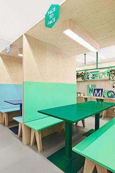 Masquespacio Renovates a Language Center near Barcelona #design #interiordesign…