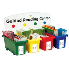 Countertop Guided Reading Center - 4 Tub Unit  #PinIt2WinIt