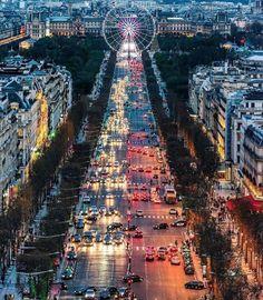 Champs - Elysées Paris - France Picture by by wonderful_places Best Vacation Destinations, Best Vacations, Amazing Destinations, Paris Tour, Paris 3, Tour Eiffel, Paris France, Tuileries Paris, Paris By Night