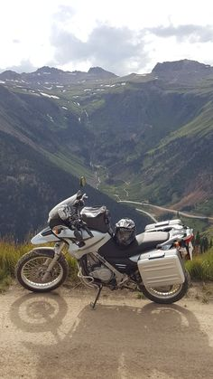 BMW F650GS.  Ouray, Colorado.