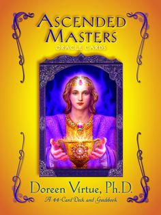 Ascended Masters Oracle Cards by Doreen Virtue - HayHouse