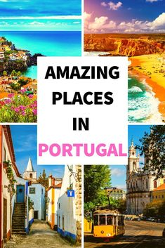 Portugal Destinations, Best Places In Portugal, Portugal Travel Guide, Europe Destinations, Travel Europe, Portugal Trip, Europe Train, Sweden Travel, Backpacking Europe
