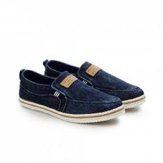 $19.07 Moda Dedo Redondo e Lonas Projeto Sapatos Masculinos