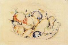 fruits - (Paul Cezanne)