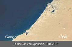 A Terrifying, Fascinating Timelapse of 30 Years of Human Impact on Earth - Emily Badger - The Atlantic Cities, dubai