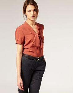 bowtie blouse