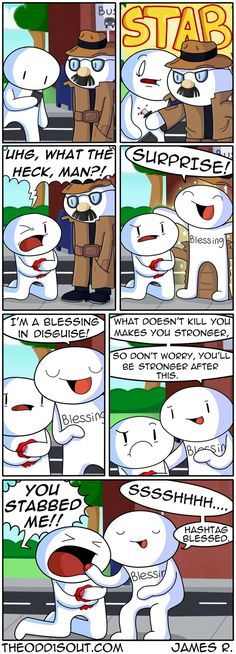 Theodd1sout :: #literallysoblessed | Tapastic Comics - image 1