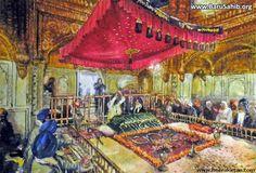 Beautiful paintings of Harmandir Sahib!