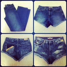 make awesome shorts!! | DIY | Pinterest | Diy shorts and Shorts