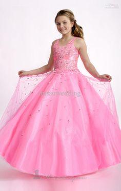 Pink pageant dress for little girls - pageant dresses Pagent Dresses, Little Girl Pageant Dresses, Wedding Flower Girl Dresses, Girls Formal Dresses, Pageant Gowns, Flower Girls, Pink Dresses, Bridesmaid Dresses, Vestidos Junior