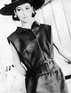 Benedetta Barzini 1964