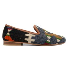 Men's Size 8/8.5 Turkish Kilim Rug Loafer