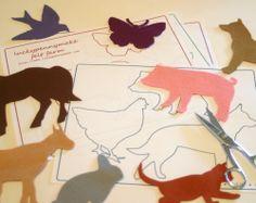 Felt Farm Animals for Flannel Board or Story Board Play Pdf Pattern. $6.00, via Etsy.