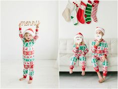 This is part 2 of the Christmas mini sessions coming up! The set up will go great with anything from dressy holiday outfits right down to Christmas pajamas! My kids had so much fun wearing their new jammies and santa hats. We went to Costco after these pictures all decked out in these outfits and…