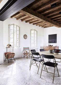 ¿Como decorar con suelo de terrazo? vía @ComodoosInt