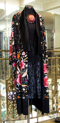 The Great Gatsby Vintage Original 20's dress and coat