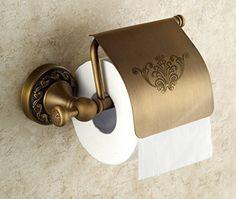 Swivel Toilet Roll Paper Rail Holder with Cover Wall Mounted Bathroom Accessories Holder Convenient Toilet Tissue Rail Holder (Antique Brass) Guma http://www.amazon.com/dp/B00SAU6SBM/ref=cm_sw_r_pi_dp_LN35vb0W7TK9D
