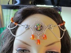 Circlet of the Inner Fire Elven Celtic Druid Costume Cosplay Renaissance LARP Vampire. $22.00, via Etsy.