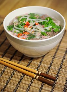 Asian Recipes, Ethnic Recipes, Pho, Japchae, Favorite Recipes, Dinner, Cooking, Kitchen, Kitchens