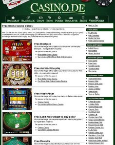 if you want Free Online Casino Games then this link is what you are looking for. http://online.casino.de/kostenlos-casinospiele.html