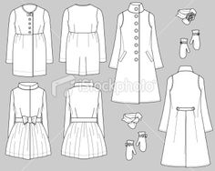 stock-illustration-7849150-production-flats-fall-trends-ladies-coat-collection.jpg (380×304)