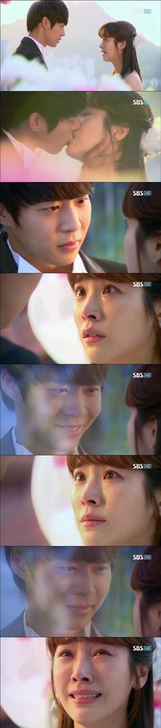 Yong Tae Yong and Park Ha~ Rooftop Prince The wedding one of the best but saddest parts of the drama.