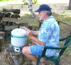 Hank Drum - Propane tank drum by Dennis Havlena - not able to buy the hang drum this might have to do!