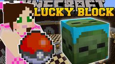 [Popularmmos - Minecraft ] POKEMON CHALLENGE GAMES - Lucky Block Mod