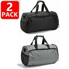2x Gym Bag for Men ladies Duffel Bag with Shoes Compartment pocket that is wet: Item particulars Condition: Brand new… #Travelgoods #bag