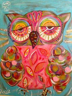 Serie owls y  Rocío Rivera