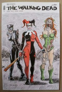 The other sirens are Harley's bitch lol