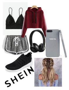 """Women's Shein Sportwear"" by isabellamines on Polyvore featuring Beats by Dr. Dre"