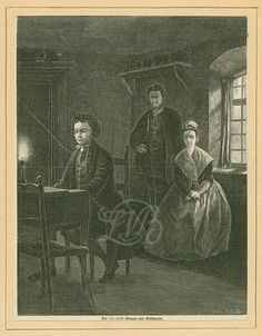 Ludwig plays for his parents.