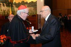 Il conferimento della Medaglia d'onore dell'Università al Presidente della Repubblica