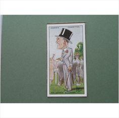 SIR GEORGE BULLOUGH SINGLE CIGARETTE CARD NO 8 OGDEN'S 1929 Tilleys of Sheffield