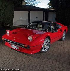 Ferrari 308 GTS The Mid-Engined Sports Car Was Manufactured From 1975 To 1985.......