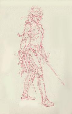 ArtStation - The Red Sketches, Alin Alexandru